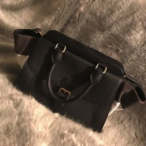 Burberry medium harcourt satchel